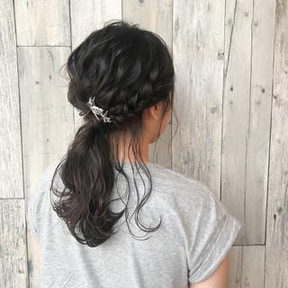 セミロング ナチュラル イルミナカラー 色気 ヘアスタイルや髪型の写真・画像