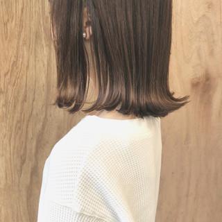 外ハネ 女子力 ナチュラル 透明感 ヘアスタイルや髪型の写真・画像