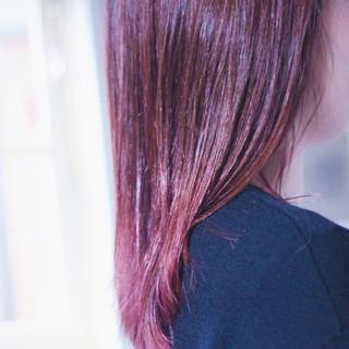 ピンクベージュ ナチュラル ベリーピンク ピンクアッシュ ヘアスタイルや髪型の写真・画像