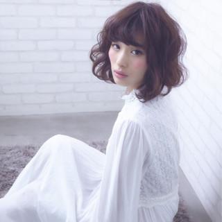 ハイライト ボブ ショート 渋谷系 ヘアスタイルや髪型の写真・画像