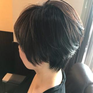 ショート ショートボブ コンサバ ヘアスタイルや髪型の写真・画像