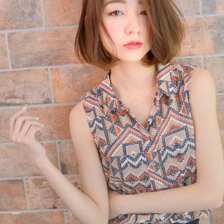 ピュア 大人かわいい アッシュ フェミニン ヘアスタイルや髪型の写真・画像