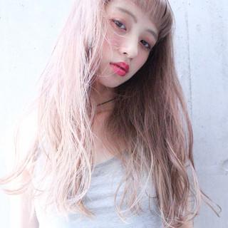 前髪あり 外国人風 ゆるふわ ナチュラル ヘアスタイルや髪型の写真・画像
