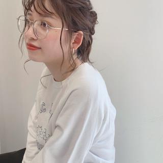 外国人風カラー オルチャン 簡単ヘアアレンジ 韓国ヘア ヘアスタイルや髪型の写真・画像