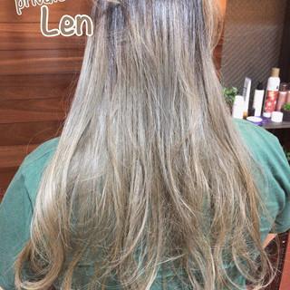 ロング  ガーリー ふんわり ヘアスタイルや髪型の写真・画像