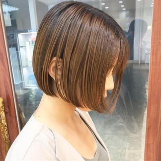 ショート コンサバ デート 横顔美人 ヘアスタイルや髪型の写真・画像