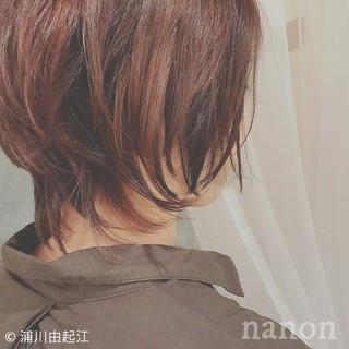 デート インナーカラー ゆるふわ ボブ ヘアスタイルや髪型の写真・画像