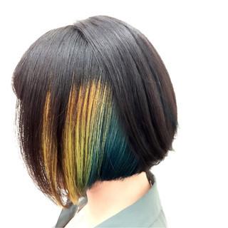 後藤菜々さんのヘアスナップ