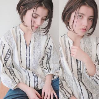 青柳枝里香さんのヘアスナップ