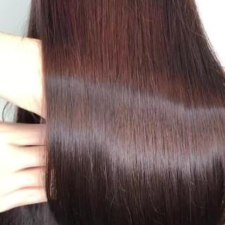 髪質改善トリートメント ツヤ髪 ナチュラル トリートメント ヘアスタイルや髪型の写真・画像
