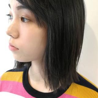 ボブ ブルージュ 大人かわいい 暗髪 ヘアスタイルや髪型の写真・画像
