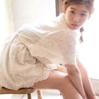 モテ髪 大人かわいい 外国人風 ヘアアレンジ ヘアスタイルや髪型の写真・画像