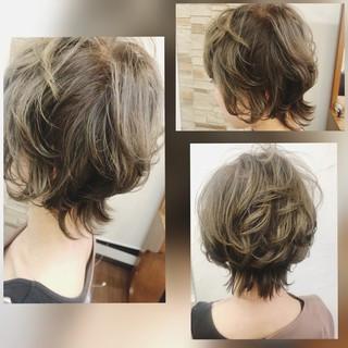 ショート コンサバ ヘアスタイルや髪型の写真・画像