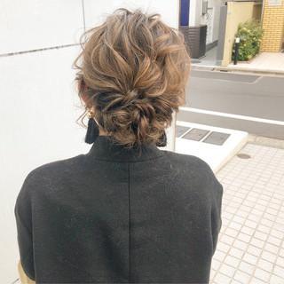 デート 結婚式 ナチュラル ヘアアレンジ ヘアスタイルや髪型の写真・画像 ヘアスタイルや髪型の写真・画像