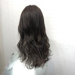ナチュラルブラウンカラー 初カラー ブラウンベージュ ロング ヘアスタイルや髪型の写真・画像