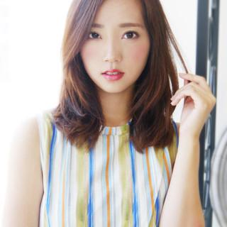 かっこいい 大人女子 デジタルパーマ フェミニン ヘアスタイルや髪型の写真・画像