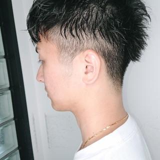 ストリート パーマ 銀座美容室 ショート ヘアスタイルや髪型の写真・画像