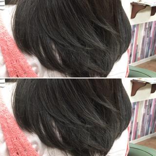 ナチュラル 秋 外国人風カラー アッシュ ヘアスタイルや髪型の写真・画像