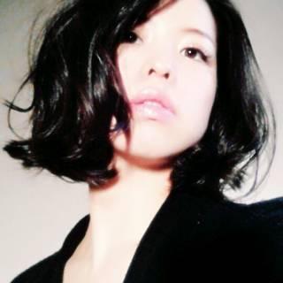 暗髪 ミディアム 卵型 ストリート ヘアスタイルや髪型の写真・画像 ヘアスタイルや髪型の写真・画像