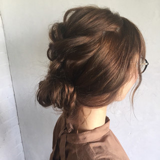 ヘアアレンジ 夏 ナチュラル お祭り ヘアスタイルや髪型の写真・画像 ヘアスタイルや髪型の写真・画像