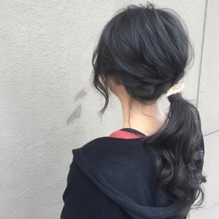 ショート ヘアアクセ ヘアアレンジ ロング ヘアスタイルや髪型の写真・画像