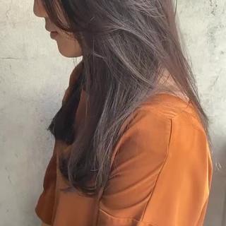 大人かわいい ナチュラル 艶髪 濡れ髪スタイル ヘアスタイルや髪型の写真・画像