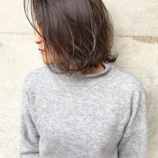 色気 外ハネ ナチュラル 大人女子 ヘアスタイルや髪型の写真・画像
