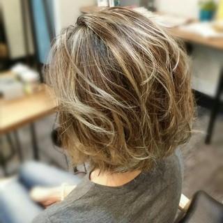 外国人風 ストリート ハイライト 渋谷系 ヘアスタイルや髪型の写真・画像