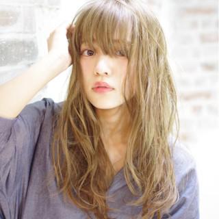 パーマ アッシュ ストリート ピュア ヘアスタイルや髪型の写真・画像