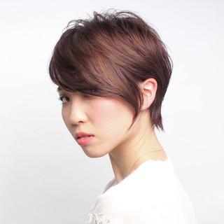 大人可愛い 大人ショート 大人女子 ナチュラル ヘアスタイルや髪型の写真・画像 ヘアスタイルや髪型の写真・画像