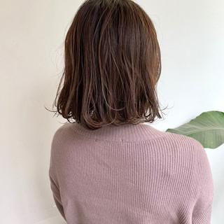 アッシュベージュ ナチュラルベージュ ブラウンベージュ ボブ ヘアスタイルや髪型の写真・画像