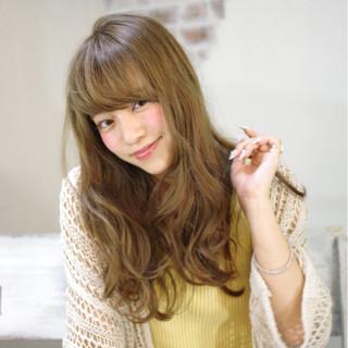 フェミニン ゆるふわ ロング 大人かわいい ヘアスタイルや髪型の写真・画像 ヘアスタイルや髪型の写真・画像