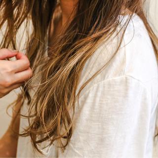 大人かわいい ハイライト アッシュ 外国人風 ヘアスタイルや髪型の写真・画像
