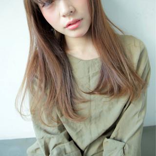 モード 大人かわいい ロング モテ髪 ヘアスタイルや髪型の写真・画像