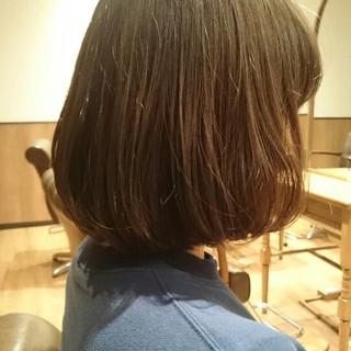 色気 冬 ガーリー ボブ ヘアスタイルや髪型の写真・画像