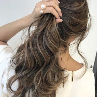 結婚式 モテ髪 ブライダル ロング ヘアスタイルや髪型の写真・画像