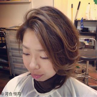 外国人風 大人かわいい フェミニン ショート ヘアスタイルや髪型の写真・画像