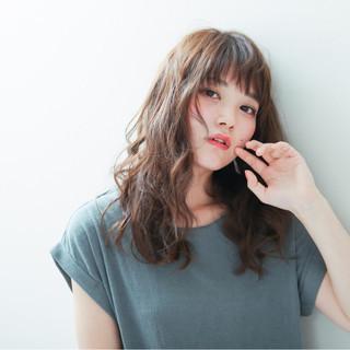 アッシュ 大人かわいい 外国人風 透明感 ヘアスタイルや髪型の写真・画像