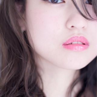 ブルー フェミニン 色気 ボブ ヘアスタイルや髪型の写真・画像