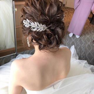 フェミニン ゆるナチュラル 大人かわいい ヘアアレンジ ヘアスタイルや髪型の写真・画像