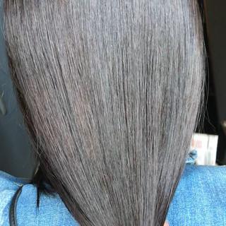 ミルクティーブラウン oggiotto 透明感カラー ナチュラル ヘアスタイルや髪型の写真・画像