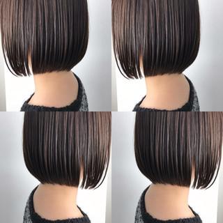 デート オフィス ボブ ミニボブ ヘアスタイルや髪型の写真・画像 ヘアスタイルや髪型の写真・画像