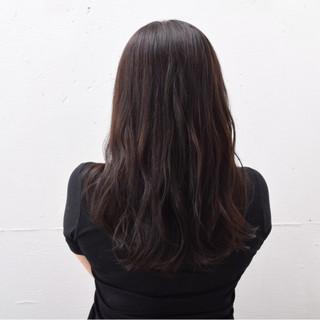 ナチュラル ロング ゆるふわ 暗髪 ヘアスタイルや髪型の写真・画像 ヘアスタイルや髪型の写真・画像