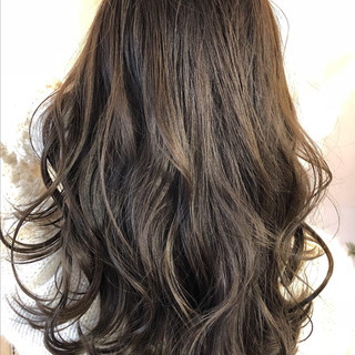 アンニュイほつれヘア ロング 大人かわいい ブルージュ ヘアスタイルや髪型の写真・画像
