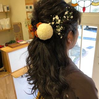外国人風カラー ロング ハイライト バレイヤージュ ヘアスタイルや髪型の写真・画像