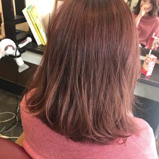 ベージュ ピンクアッシュ ピンク ヌーディーベージュ ヘアスタイルや髪型の写真・画像 ヘアスタイルや髪型の写真・画像