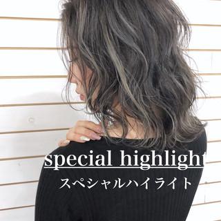 グラデーションカラー 外国人風カラー ヘアカラー エレガント ヘアスタイルや髪型の写真・画像