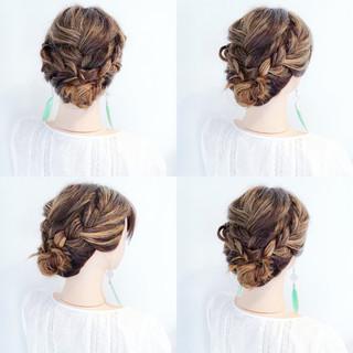色気 簡単ヘアアレンジ 夏 フェミニン ヘアスタイルや髪型の写真・画像