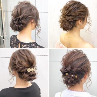 ナチュラル 結婚式 成人式 ロング ヘアスタイルや髪型の写真・画像