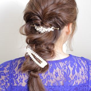 モテ髪 撮影 ロング ヘアアレンジ ヘアスタイルや髪型の写真・画像